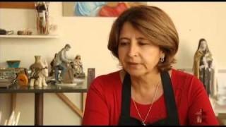 Cida Simões: restauradora de porcelana