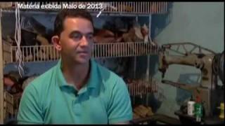 O sapateiro Rogério Silva