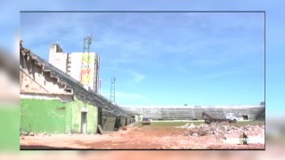 O antigo estádio Juca Ribeiro