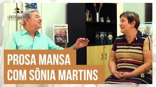 Celso Machado numa prosa mansa com Sônia Martins da Costa e Silva
