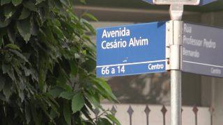 Memória nas Ruas – Av. Cesário Alvim