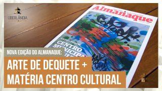 Mônica Debs abre a nova edição do Almanaque UOS que traz arte de Dequete na capa.