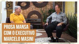 Celso Machado bate um papo sobre a vida e o trabalho de Marcelo Masini, em Uberlândia